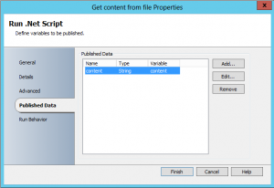 Get every line in a file and add it to the Orchestrator databus3