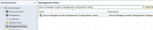 In what Management Pack is the list for Incident Classification2