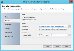 Install Server Role with Orchestrator2