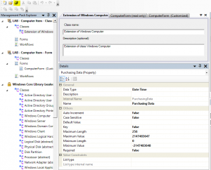 Add Purchasing Data to Computer Form in Service Manager9