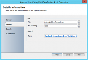 Check if Orchestrator Runbook server fails over to second Runbook server3