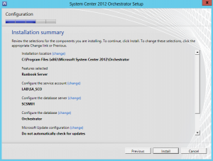 Install a secondary Orchestrator Runbook server11