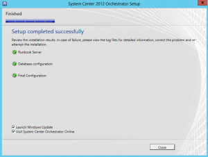 Install a secondary Orchestrator Runbook server12