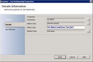 Get Service Managers Reviewer Display Name with Orchestrator6