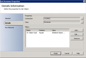 Get Service Managers Reviewer Display Name with Orchestrator7