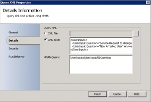 How to use the Query XML Activity in Orchestrator2