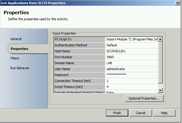Generate AD group with SCO when new SCCM 2012 Application is created2