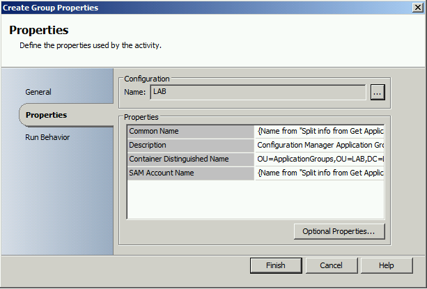 Generate AD group with SCO when new SCCM 2012 Application is created6