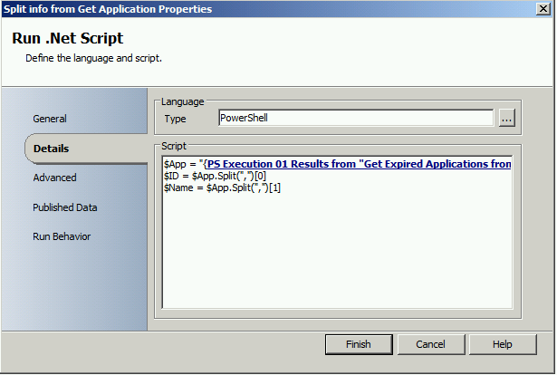 Delete AD Group when application is removed or retired in Configuration Manager 2012 with Orchestrator3