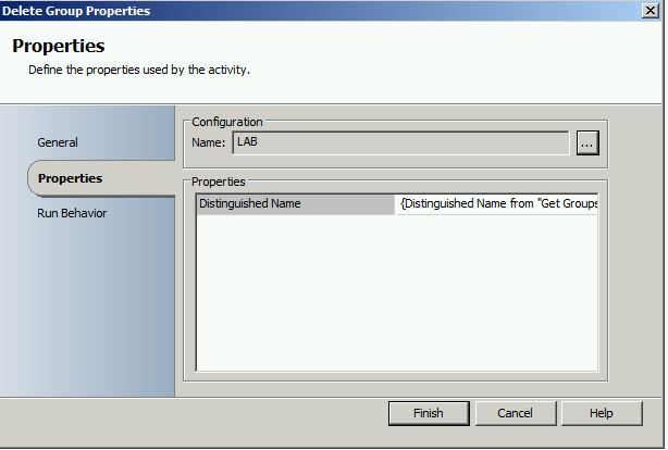 Delete AD Group when application is removed or retired in Configuration Manager 2012 with Orchestrator5