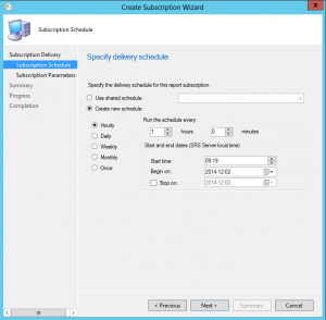 Email Configuration Manager 2012 reports on schedule7