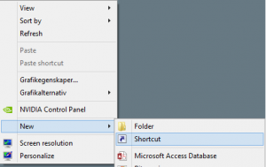 Deploy a shortcut with SCCM 20121
