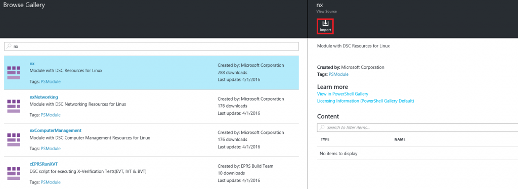 Add module in Azure Automation if DSC Configuration compilation fails5