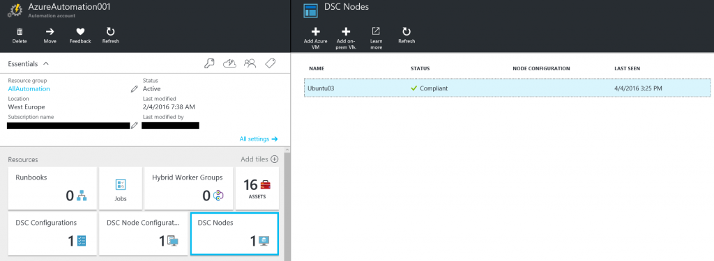 Install and configure an Apache web server on Linux with DSC and Azure Automation4