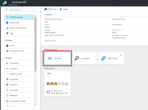 Pin a Custom View on the Azure Dashboard 1